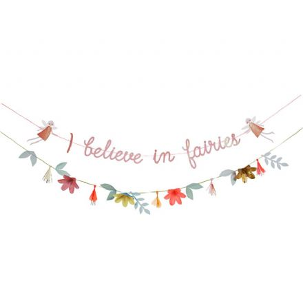 "Meri Meri ""I Believe in Fairies"" Garland"
